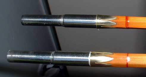 The classic fly rod forum clamping gluing ferrules for Fishing rod ferrules